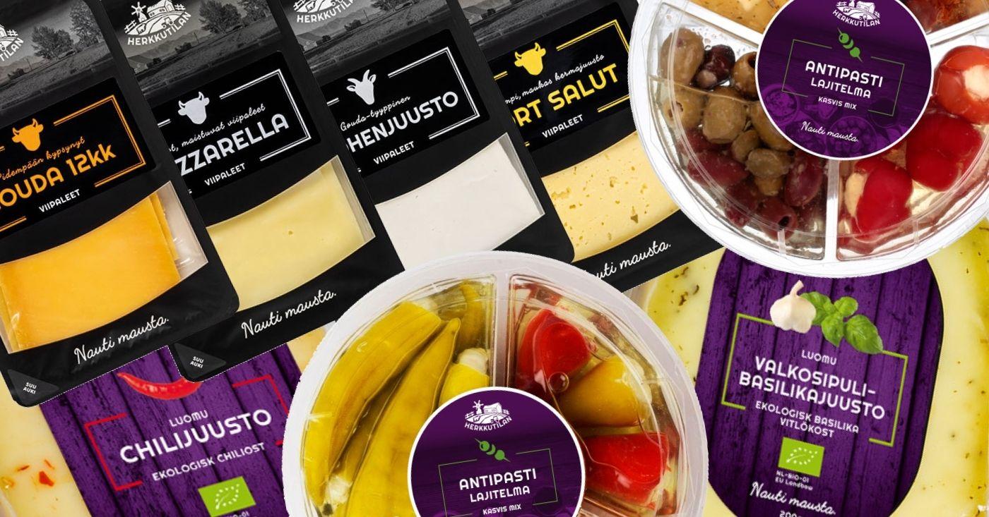 Illanistujaisten maistuvimmat tarjoilut – Herkkutilan erikoisjuustot ja antipastit